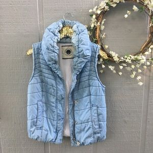 Anthropologie Daughters of the Liberation vest. M.